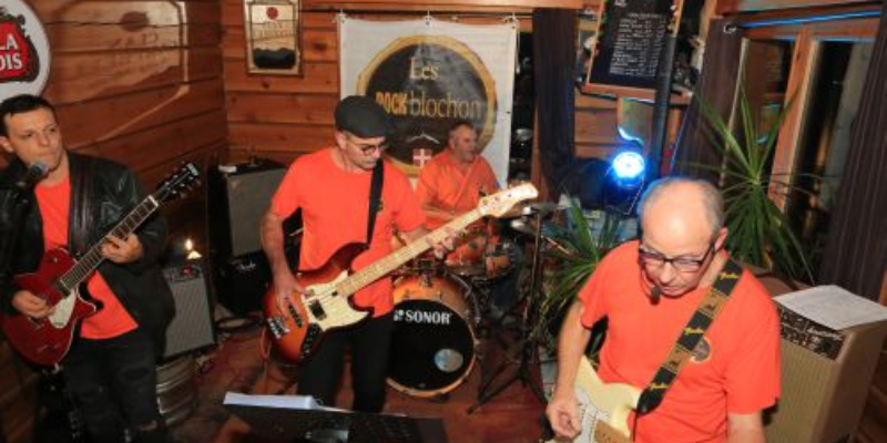 LES ROCKBLOCHON, groupe de musique Rock en représentation à Savoie - photo de couverture n° 3