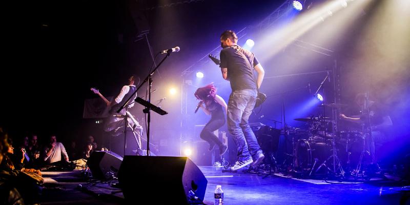 THE PAGE, groupe de musique Rock en représentation à Bouches du Rhône - photo de couverture n° 1
