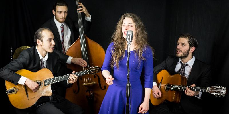 Octave et Anatole, groupe de musique Jazz en représentation - photo de couverture n° 1