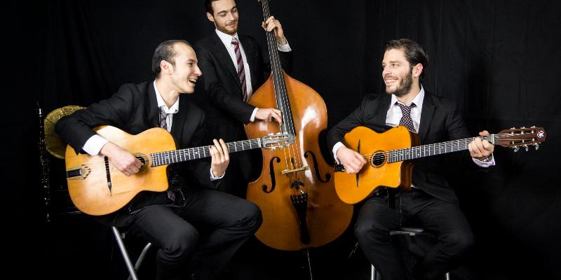 Octave et Anatole, groupe de musique Jazz en représentation - photo de couverture n° 2