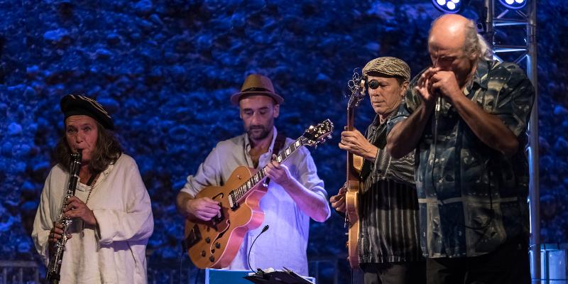 Bluemary Swing, groupe de musique Jazz en représentation à Corrèze - photo de couverture n° 2