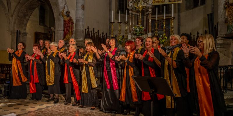 Gospel Var, groupe de musique Gospel en représentation à Var - photo de couverture