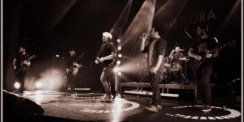 METEORA, groupe de musique Rock en représentation - photo de couverture
