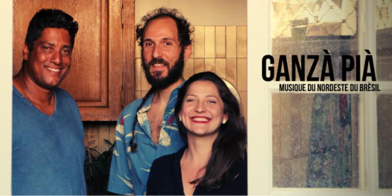 Ganzà Pià , groupe de musique Folk en représentation à Gard - photo de couverture