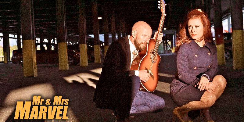 Mr & Mrs MARVEL, musicien Chanteur en représentation à Pyrénées Orientales - photo de couverture n° 2