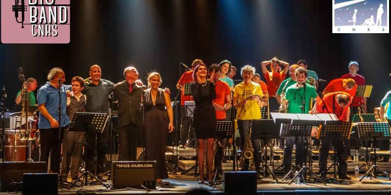 Big Band du CNRS de Marseille, groupe de musique Jazz en représentation à Bouches du Rhône - photo de couverture n° 1