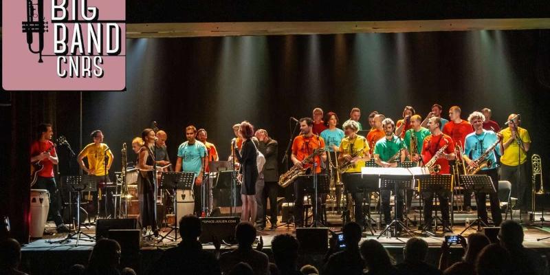 Big Band du CNRS de Marseille, groupe de musique Jazz en représentation à Bouches du Rhône - photo de couverture n° 2