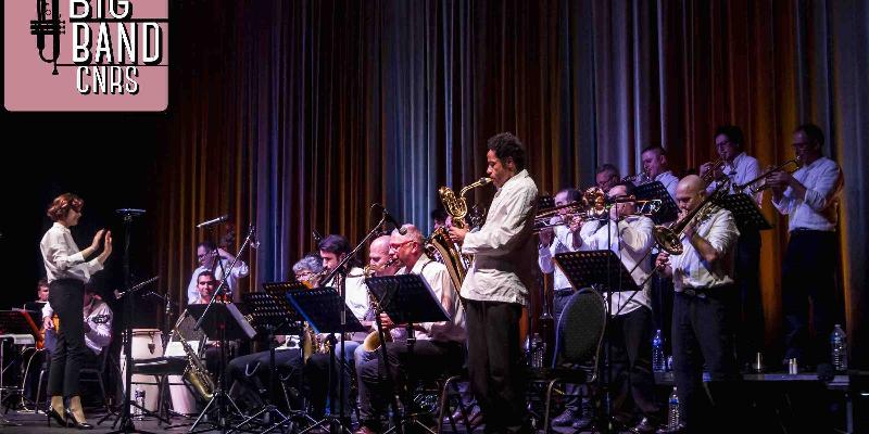 Big Band du CNRS de Marseille, groupe de musique Jazz en représentation à Bouches du Rhône - photo de couverture n° 3