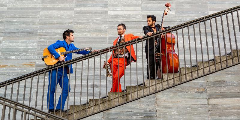 Bazar et Bémols, groupe de musique Acoustique en représentation à Paris - photo de couverture