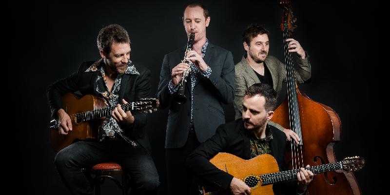Sheik of Swing, groupe de musique Gypsy en représentation à Haute Garonne - photo de couverture