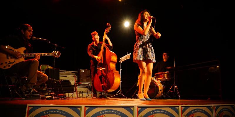 Andreïa Latin-Jazz, musicien Jazz en représentation à Paris - photo de couverture n° 1
