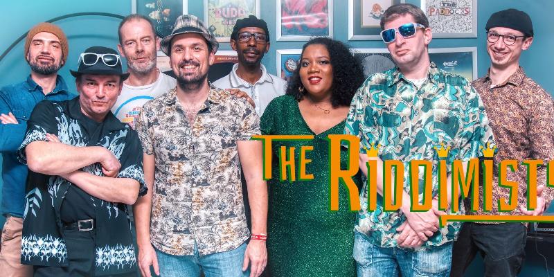 TheRiddimists, groupe de musique Reggae en représentation à Maine et Loire - photo de couverture