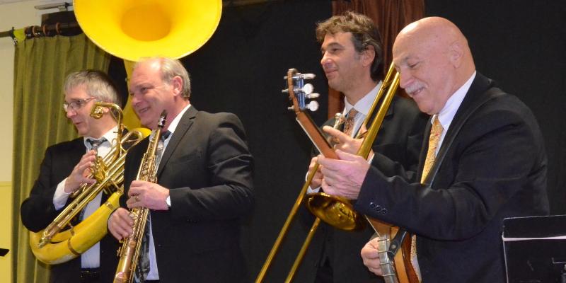 HOT JAZZ BROTHERS, groupe de musique Jazz en représentation à Gard - photo de couverture n° 2