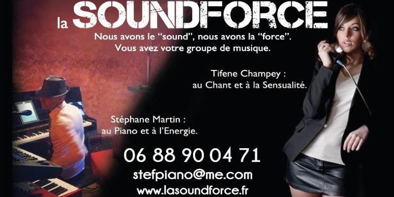 La Soundforce, musicien Chanteur en représentation à Drôme - photo de couverture n° 2