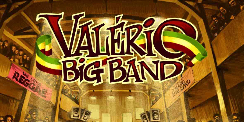 Valério Big Band, groupe de musique Reggae en représentation à Paris - photo de couverture n° 2