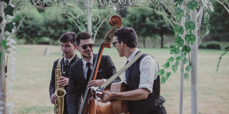 Singing in the Rennes, groupe de musique Jazz en représentation à Ille et Vilaine - photo de couverture