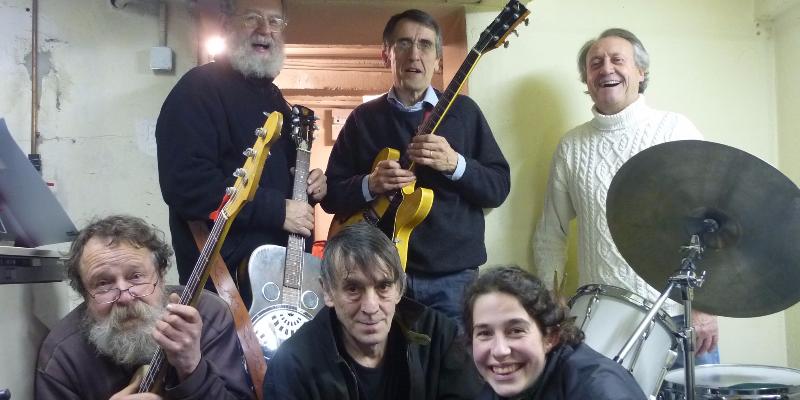 Bécon Barn Stompers, groupe de musique Rock en représentation - photo de couverture