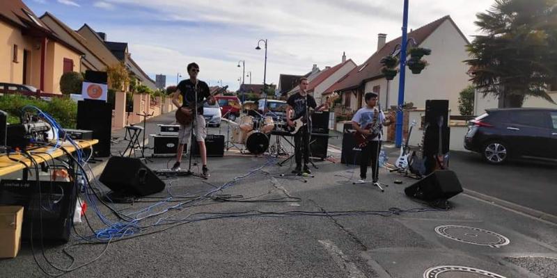Rock'ad, groupe de musique Métal en représentation à Sarthe - photo de couverture n° 2