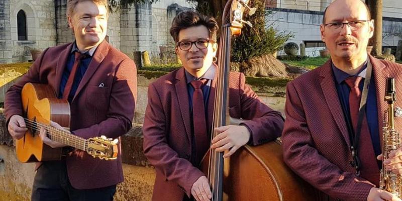 Samovar Swing Trio, groupe de musique Jazz en représentation à Vendée - photo de couverture n° 3