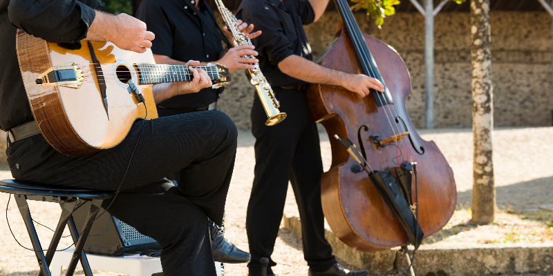 Samovar Swing Trio, groupe de musique Jazz en représentation à Vendée - photo de couverture n° 1