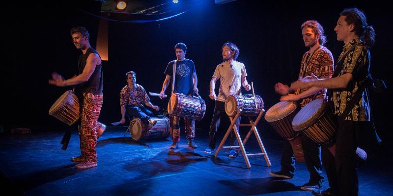 ANTA Djembe, groupe de musique Musiques du monde en représentation à Paris - photo de couverture n° 1