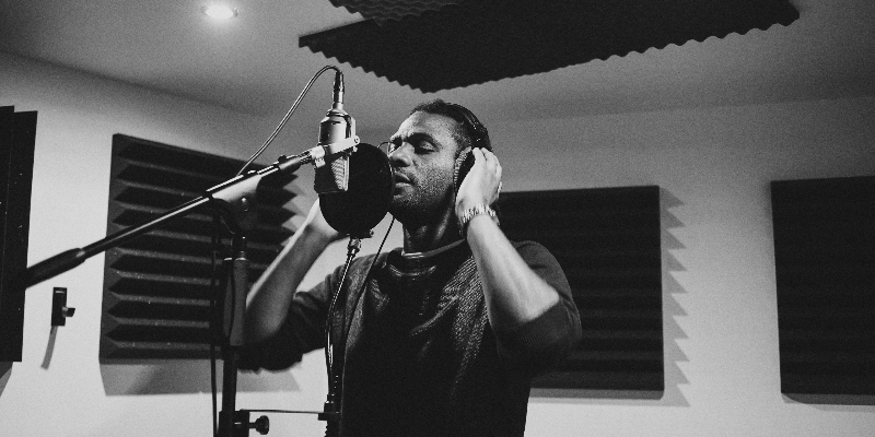 Joackim makk, musicien Rap en représentation - photo de couverture