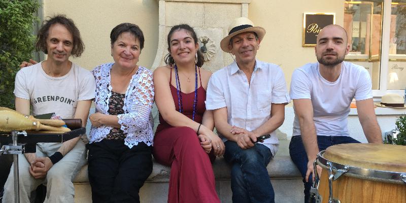Agua pa' ti, groupe de musique Musiques du monde en représentation à Seine Saint Denis - photo de couverture n° 3