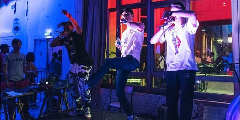 LCNP, groupe de musique Rap en représentation à Paris - photo de couverture