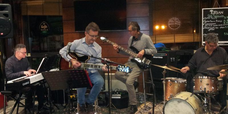 Kool Jazz Quartet, groupe de musique Soul en représentation à Morbihan - photo de couverture n° 2