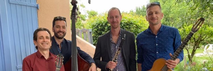 TchikiswingQtet, groupe de musique Jazz en représentation à Haute Garonne - photo de couverture n° 2