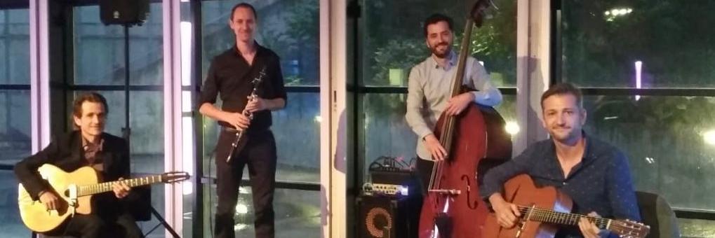 TchikiswingQtet, groupe de musique Jazz en représentation à Haute Garonne - photo de couverture n° 3
