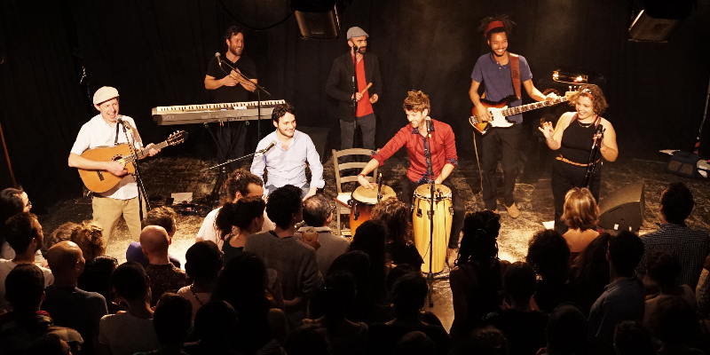 Guaracha sabrosa, groupe de musique Latino en représentation à Rhône - photo de couverture