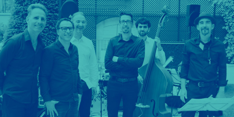 Prezzaj, groupe de musique Jazz en représentation à Bouches du Rhône - photo de couverture n° 1