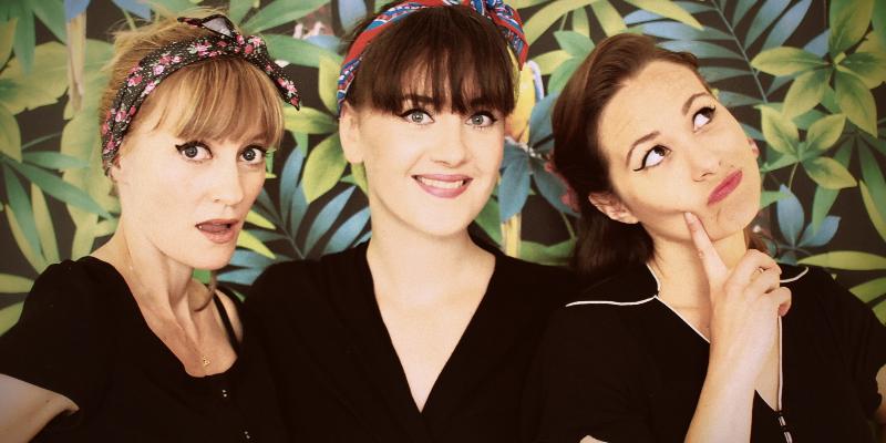 The Tiki Sisters, groupe de musique Chanteur en représentation à Paris - photo de couverture n° 2