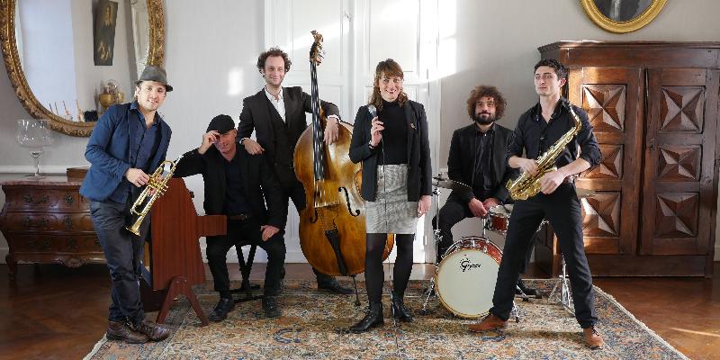 Madame Léon, groupe de musique Jazz en représentation à Haute Garonne - photo de couverture