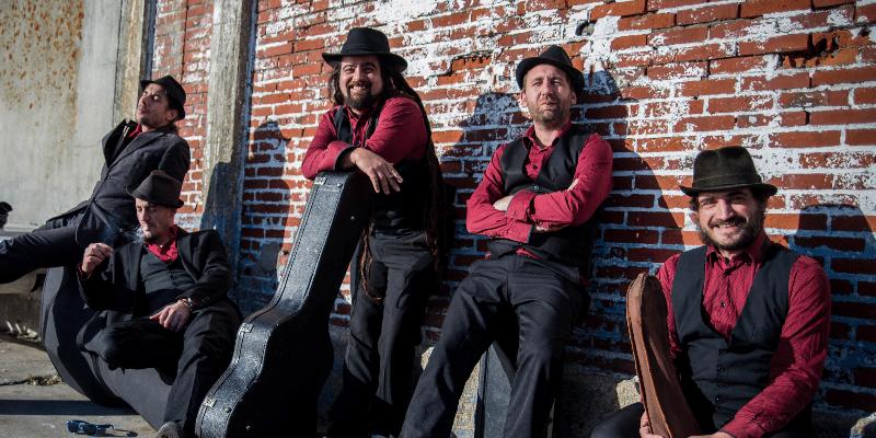 Harisson Swing , groupe de musique Gypsy en représentation à Morbihan - photo de couverture n° 1