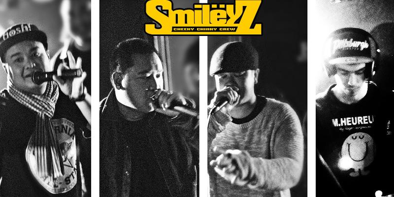 Smileyz Cheeky Chinky Crew, groupe de musique Hip-Hop en représentation à Paris - photo de couverture n° 1