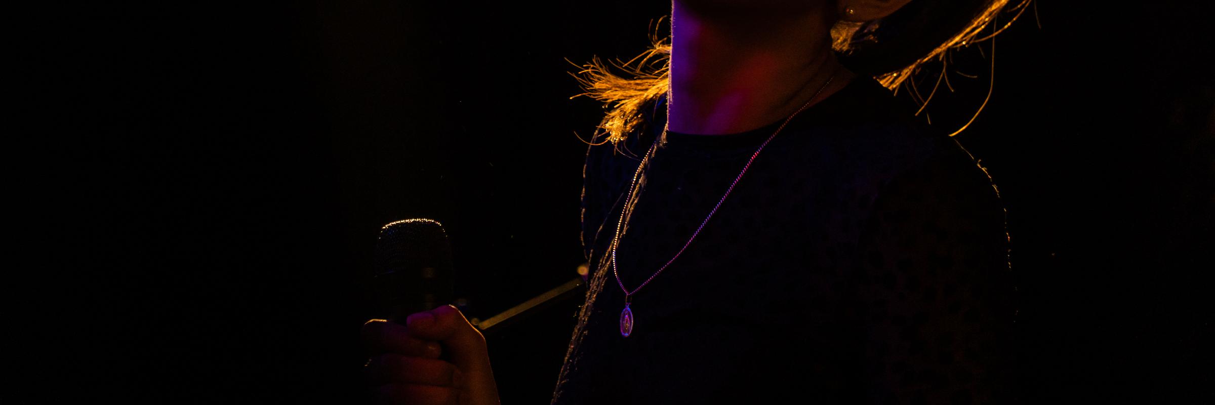 Aurelie Laffont, musicien Chanteur en représentation à Hauts de Seine - photo de couverture