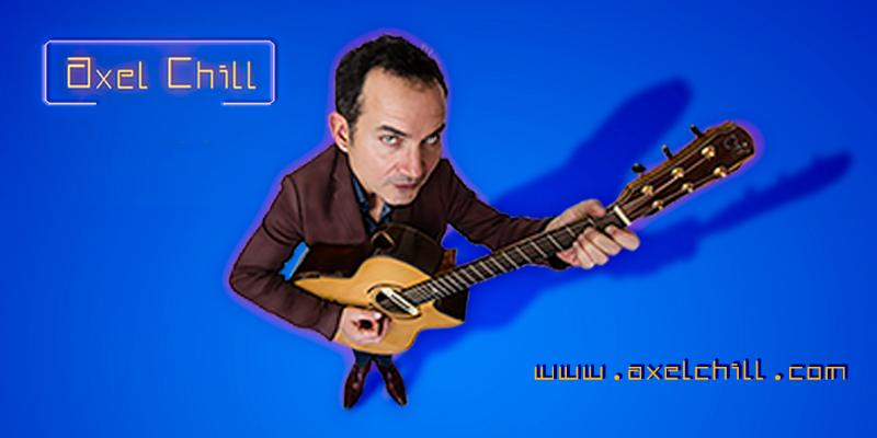 Axel Chill, musicien Chanteur en représentation à Ille et Vilaine - photo de couverture n° 1