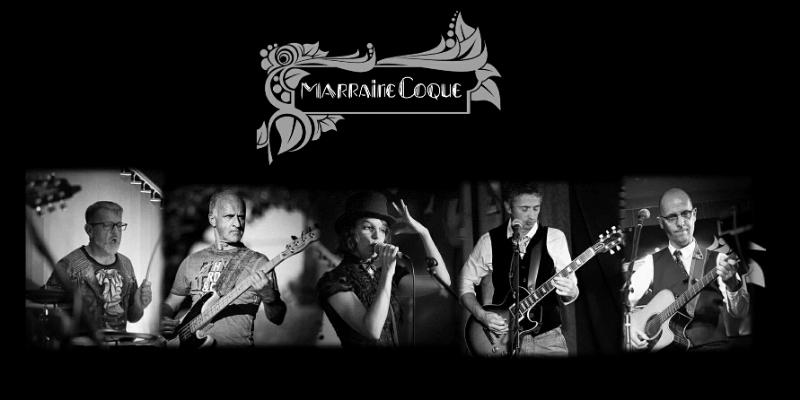 MARRAINE COQUE, groupe de musique Rock en représentation à Doubs - photo de couverture n° 2