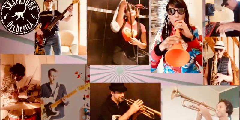 Skapajous Orchestra, groupe de musique Reggae en représentation à Paris - photo de couverture n° 3