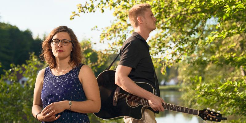 Yann et Maïté, musicien Rock en représentation à Moselle - photo de couverture