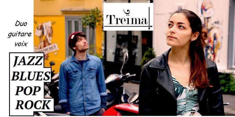 Treïma, musicien Rock en représentation - photo de couverture n° 2