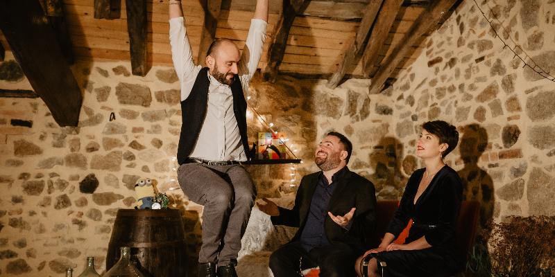 Acrobate Jazz Trio, groupe de musique Jazz en représentation à Puy de Dôme - photo de couverture n° 3