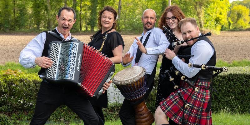 Panik Celtic, groupe de musique Musiques du monde en représentation à Ille et Vilaine - photo de couverture n° 1