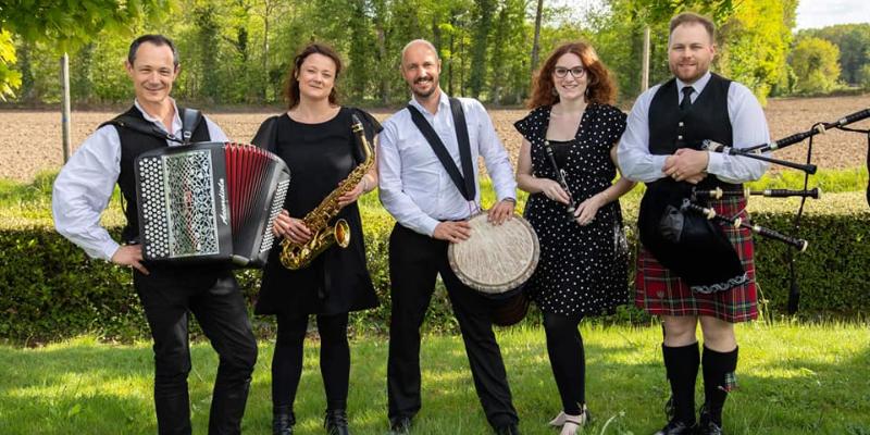 Panik Celtic, groupe de musique Musiques du monde en représentation à Ille et Vilaine - photo de couverture n° 2