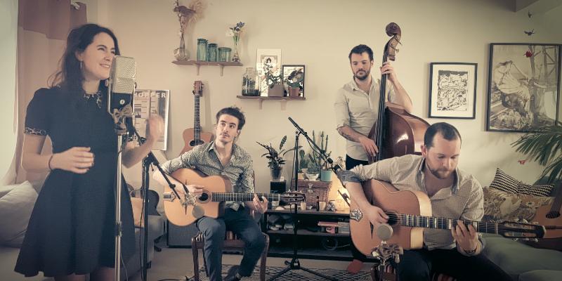 Fred Dong Brault, groupe de musique Jazz manouche en représentation à Ille et Vilaine - photo de couverture n° 2