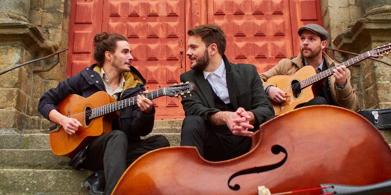 Fred Dong Brault, groupe de musique Jazz manouche en représentation à Ille et Vilaine - photo de couverture n° 3