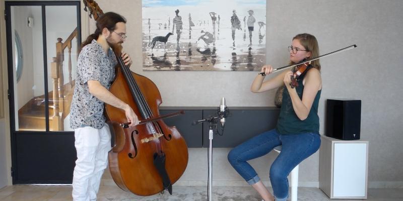 Northern Bridge Duet, musicien Jazz en représentation à Somme - photo de couverture