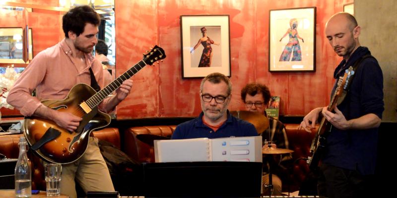 Mondetour Bounce Collective, groupe de musique Jazz en représentation à Paris - photo de couverture